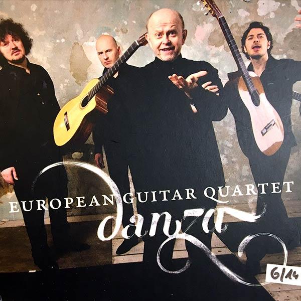 EUROPEAN GUITAR QUARTET : Danza